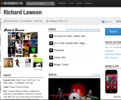 Reverbnation - mob. app