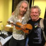 Rich and Dave Allen form the Popes...broken fiddle!!