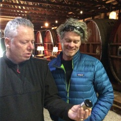 with Philip Van Gent at PVG Wines Mudgee